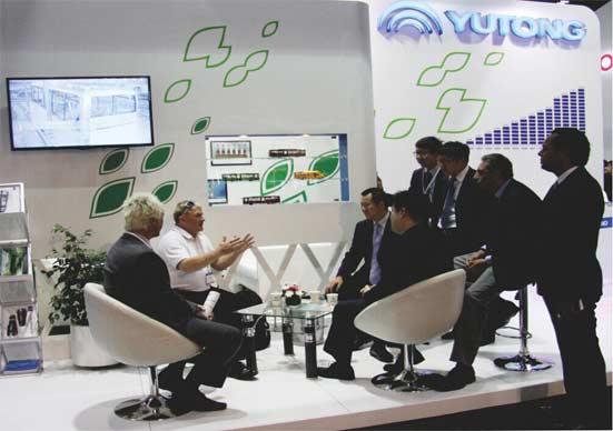 Yutong assiste au salon de l'UITP MENA 2014 de Duba?