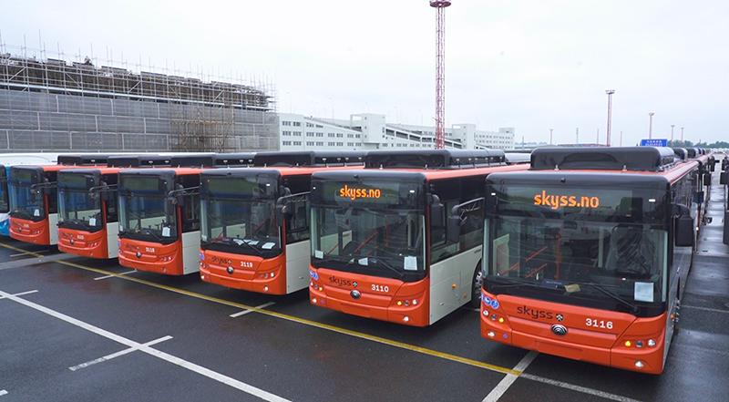 102 bus purement électriques Yutong seront bientôt livrés en NorvègeBrisant la taille de lot maximale dune seule commande de bus purement électriques en Europe