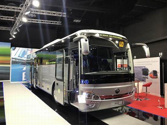 Yutong participe à Busworld Kortrijk 2017