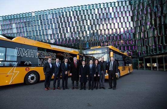 Le premier lot de bus 100% électriques de Yutong ont ouvert une nouvelle ère de transport écologique en Islande