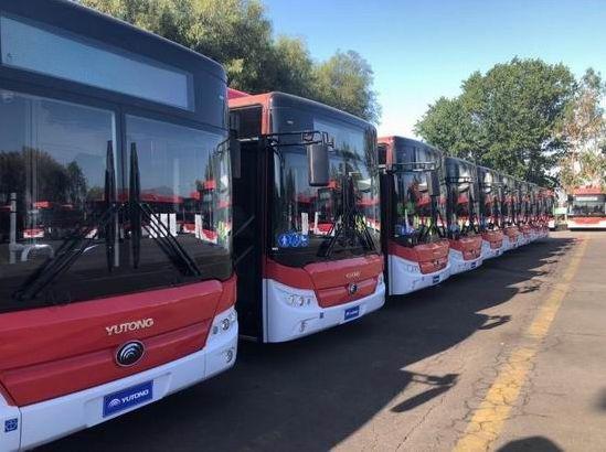 100 bus purement électriques de Yutonglivrés au Chili, leader de la marque de bus chinois dAmérique latine